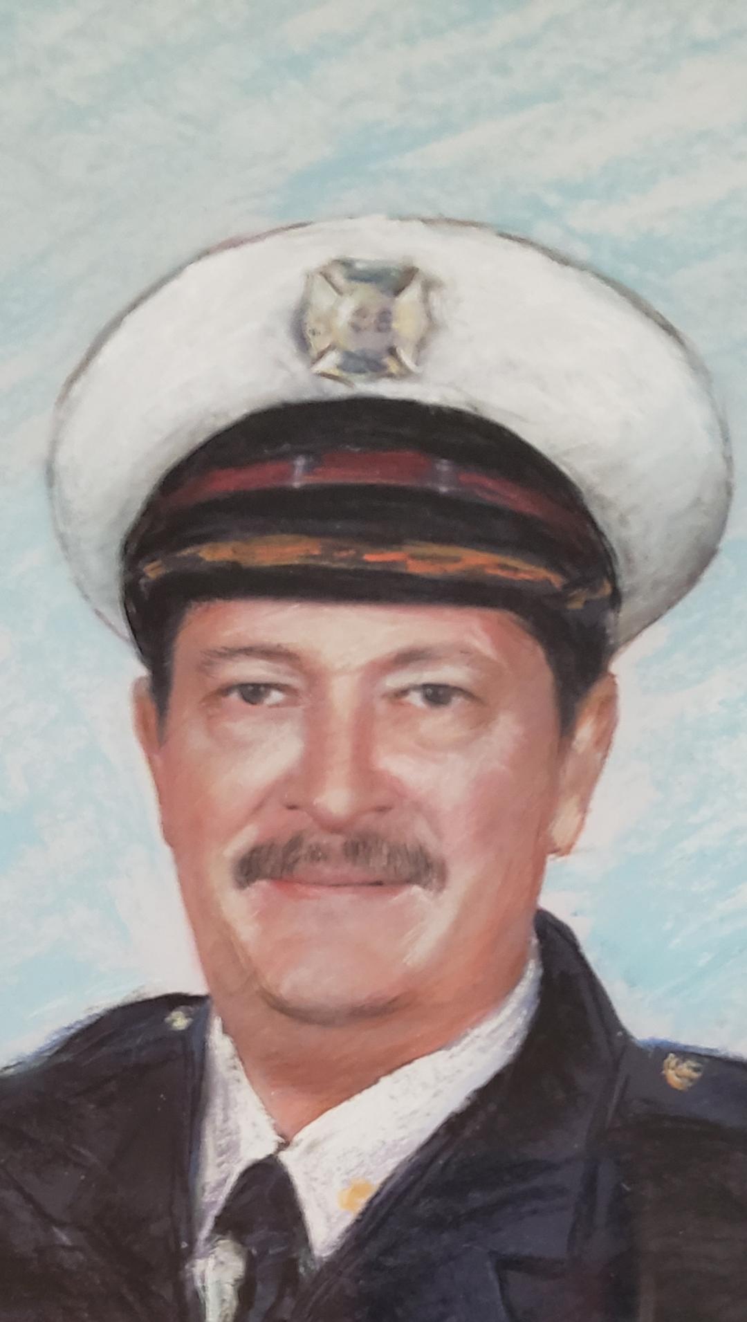 Lt. Robert J.  Hjellum F.P.F.D.